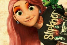 Disney characters with piercings and tattoos