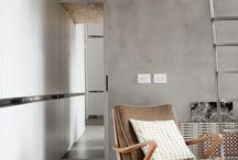betonvloer/muur