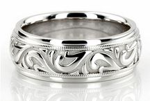 Rings / Wedding bands for both of us / by Liana Elliott