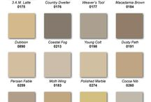 Paint colors / by Michele Olson