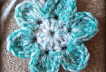 Crochet Flowers/Leaves/Stars/Hearts