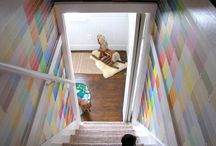 Creative Home / Cool ideas for home decor, storage, paint etc.