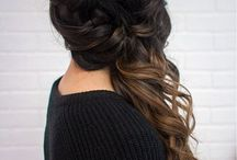 Prom Hair / Gorgeous prom hairstyles with different hair lengths. Get inspired by the stunning hairstyles for prom hair ideas.