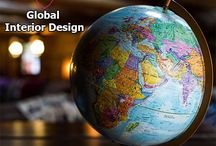 Global Design Trends | Interior Design / There are so many unique cultures and exciting design trends in the world today.  We've taken a look at some of the most inspirational and finest Global Interior Design Trends.