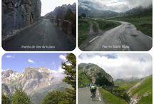 Bicicleta en los Pirineos - Biking in the Pyrenees / Fotos de bicicleta de carretera y montaña en las cercanías del hotel. Road and mountain bike in hotel area.