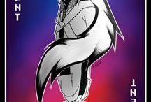 Underverse♡ / (X-Tale) Underverse est une animation sur les AUs d'Undertale  (Univers alternatifs) par Jael Peñaloza [Jakei] à voir sur youtube. Cette série est géniale je vous la conseille tout comme Glitchtale