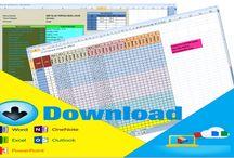 Download Aplikasi Membuat Jadwal Pelajaran dengan Microsoft Excel Gratis (free)
