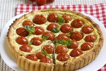 TORTE SALATE . . . . pranzo o cena alternativo !!!! Good Good !!!