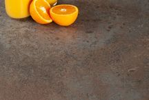Solid Laminate Worktops / Constructed of several sturdy layers, these surfaces are a high-performance option with a slim profile. Solid laminate worktops are incredibly practical as they are completely waterproof, resistant to a high level of heat and durable against abrasion and impact.