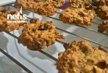 yulafli şekersiz kurabiye