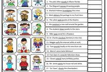 simple past regular verb