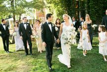 Christy's black tie woods wedding  / by Nickey Guertin