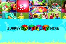 Surrey Soft Play Hire / Surrey Soft Play Hire is designed to offer the highest possible visual appeal and safety, and is packed end to end with exciting play value. Most of the biggest names in the leisure industry have placed their trust in Surrey Soft Play Hire and have, in so doing, reaped the benefits from providing their customers with the most advanced, innovative products available. With tremendous fun filled soft play packages an Ad-on including different bouncy castles and soft play equipment.