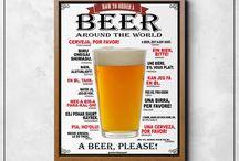 Posters para Bar