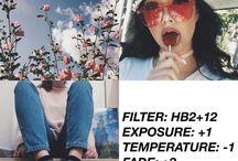 filtros vsco