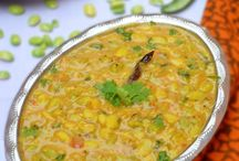 southindian accompaniments for rice and chapatis