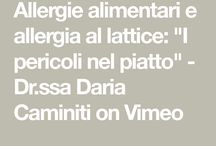 Allergie alimentari ed allergia al lattice