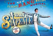 """Half A Sixpence / Following a stunningly successful run in Chichester, Cameron Mackintosh's hit musical Half A Sixpence arrives at the Noël Coward theatre on London's West End. Adapted from H.G. Wells' novel, """"Kipps: The Story of a Simple Soul,"""" the musical is written by Julian Fellowes (Downton Abbey), with music composed by George Stiles and Anthony Drewe, a top musical team put together by Mackintosh and previously responsible for the stage adaptation of Disney's Mary Poppins.  http://bit.ly/2bF6fsV"""