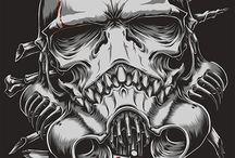 Skulltrooper / Шлем 1:1 полностью ручная работа
