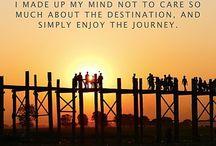 Mid week Travel Pulse ! Simply enjoy the process when exploring a destination ! Mark it on map. #quotes #travel #explore #explorer #wanderlust #planner #travelgram #words