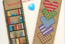 вышивка закладки