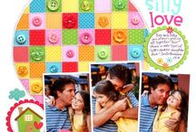 Scrapbook Layouts - 3 photos / by Laura Laforest