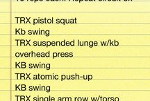 trx and kettlebell