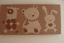 cuadros para niños / Cuadros o motivos para decorar una habitacion infantil