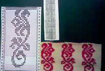 Машинное вязание, перфокарты