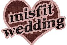 Misfit Wedding Friends / Alternative wedding suppliers featured on misfitwedding.com / by Misfit Wedding