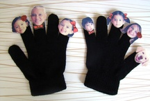 FELT Puppets - finger and hand / by Aude Vincent