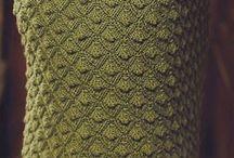 Техника вязания юбок