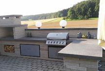 Haus Outdoorküche