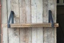 Staal balken tafel tvmeubel kast / Op maar gemaakte stalen meubels bij hillshome