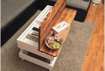 Trailer coffee table.