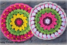 Crochet - Mandala | Doily | Coasters