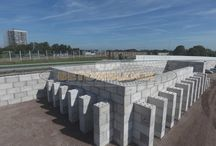 betonblock waste ecology blocks / this Pinterest is about the worlds most efficient and strong waste blocks produced out of betonblock forms. with these forms men can create blocks from left over concrete and use them for all their heavy duty projects.