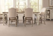 Dining Room Carpets / Allan Rug Co. allows customers to create their own custom design by selecting carpet and binding from our collection of tapestry, linen, rope, leather and cotton to suit their décor. The carpet you choose should be an extension of your personality and life style.