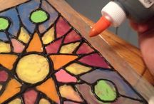 Art Lesson Ideas: Glue / by Michelle McGrath