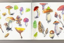 journal page inspiration watercolor moleskine