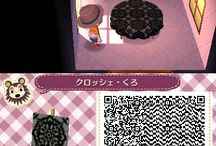 Animal Crossing New Leaf - QR codes for paths n' stuff