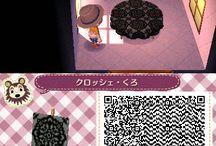 Animal Crossing New Leaf - QR codes for paths n' stuff