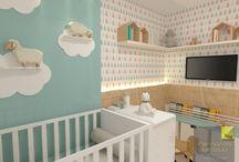 Projetos Autorais - Designer de Interiores / Projetos desenvolvidos pelo escritório de Design Fernanda Cecotti