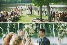 Southern Inspired Outdoor Garden Glam Wedding