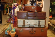 Old suitcases & trunks