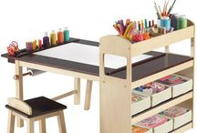 Mesa dibujo niños