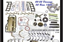 Dodge Engine Rebuild Kits / Engine rebuilding on Dodge cars, trucks and suv's.  Save Time, Save Money, One stop solution to get you back on the road. Rebuild kits with Gaskets, Pistons, Rings, Bearings, Oil pump, and Timing Sets.