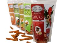 Healthy Lunch & Snacks / Here at Pretzel Perfection we're all about providing snacks that combine unique flavors from premium, all-natural ingredients. Our Twice-Baked Pretzel STICKS are gluten free and twice baked to perfection! Here is a compilation of our pretzel sticks and other great snack and lunch ideas.