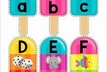 English For Kids - Alphabet / Ideas for kids