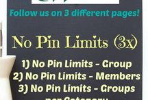 No Limits Pinning! / by Jean Keeler